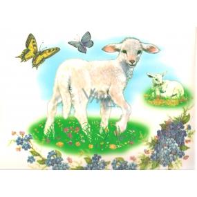 Okenní fólie bez lepidla ovečka