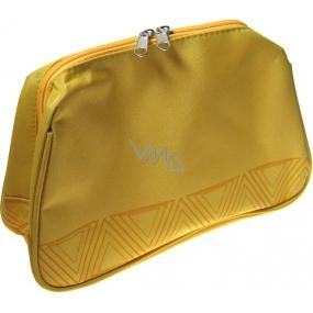 Palmolive Etue Kosmetická kabelka žlutá 24 x 17 x 8,5 cm 1 kus