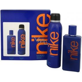 Nike Indigo Man toaletní voda 100 ml + deodorant sprej 200 ml, dárková sada