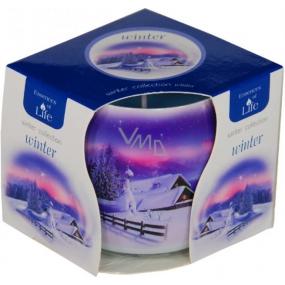 Essences of Life Winter aromatická svíčka ve skle 100 g