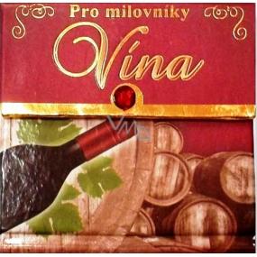 Nekupto Miniknížka s citáty 023 Pro milovníky vína