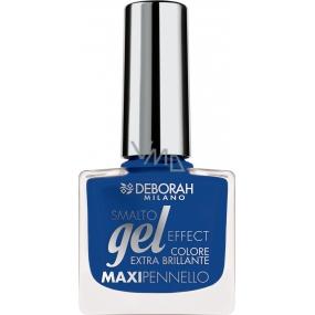 Deborah Milano Gel Effect Nail Enamel gelový lak na nehty 41 Deep Blue 11 ml