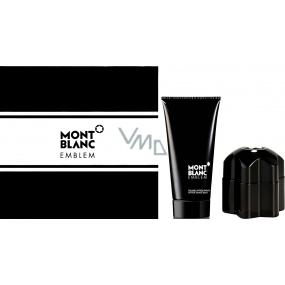 Mont Blanc Emblem toaletní voda pro muže 60 ml + balzám po holení 100 ml, dárkový sada