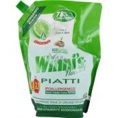 Winnis Eko Piatti Lime koncentrovaný hypoalergenní mycí prostředek na nádobí 1 l