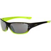 Relax Mona Sluneční brýle pro děti černo žluté R3066A