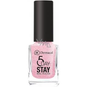 Dermacol 5 Day Stay Dlouhotrvající lak na nehty 11 Princess Rule 11 ml