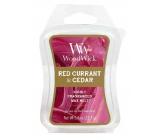 WoodWick Red Currant & Cedar - Červený rybíz a cedr Artisan vonný vosk do aromalampy 22.7 g