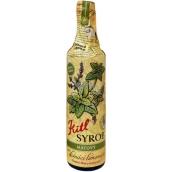 Kitl Syrob Bio Máta sirup pro domácí limonády, z čerstvě trhané máty, pěstované v kvalitě Bio 500 ml