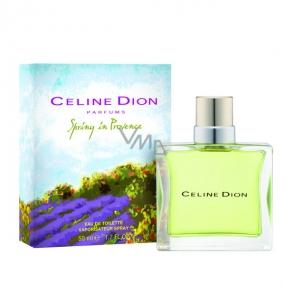 Celine Dion Spring In Provence toaletní voda pro ženy 50 ml