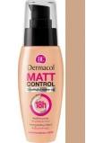 Dermacol Matt Control 18h make-up 4 Tan 30 ml