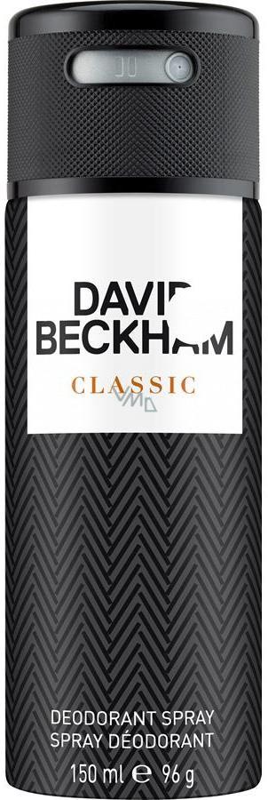 David Beckham Classic deodorant sprej pro muže 150 ml