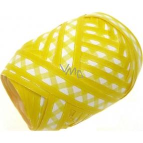 Nekupto Klubíčko Luxus žlutá s bílými trojúhelníky 152 21 KB 10 m