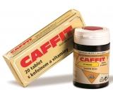 Caffit Kofein a eleuterokok, doplněn o vitamíny a minerály k prevenci únavy a k posílení zdraví, 60 tablet