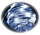 Emos Koule proutěná 16 cm, 20LED studená bílá+30cm kabel-na baterie