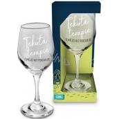 Albi Můj Bar Sklenka na víno Tekutá terapie 270 ml