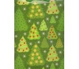 Nekupto Dárková papírová taška velká 32,5 x 26 x 13 cm Vánoční 1240 50 WBL