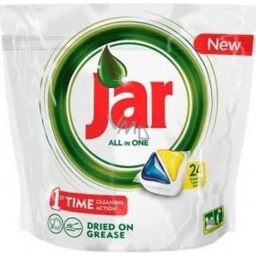 Jar All in One Lemon kapsle do myčky nádobí 24 kusů