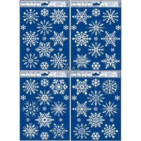 Room Decor Okenní fólie bez lepidla vločky se sněhovým efektem 30 x 20 cm 1 kus