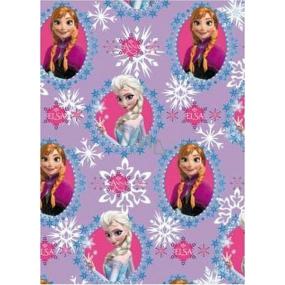 Disney Frozen Balicí papír Princezny fialový 70 x 200 cm