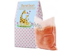NeoCos Pomeranč Šťastné žirafy koupelová sůl s bylinkami v čajových sáčcích 50 g