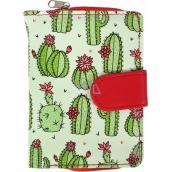 Albi Original Designová peněženka Kaktusy 9 x 13 cm