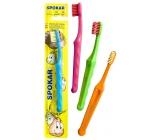 Spokar 3432 zubní kartáček rovný zástřih měkká vlákna do 6 let