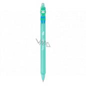 Colorino Gumovatelné pero Lama zelená, modrá náplň 0,5 mm