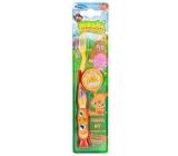 Mattel Moshy Monster měkký zubní kartáček pro děti do 6 let