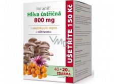 Imunit Hlíva ústřičná s rakytníkovým olejem a echinaceou chrání imunitní systém 800 mg 40 + 20 tobolek