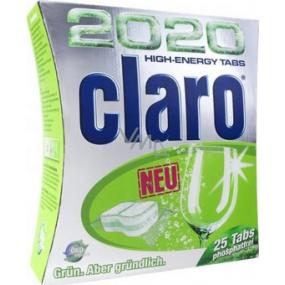 Claro 2020 High Energy Tabs - 25 multifunkčních tablet do myčky