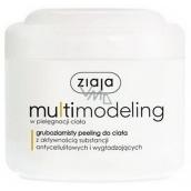 Ziaja Slim Multimodeling hrubozrnistý sprchový peeling s anticelulitidním a zeštíhlujícím účinkem 200 ml