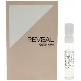 Calvin Klein Reveal parfémovaná voda pro ženy 1,2 ml s rozprašovačem, Vialka
