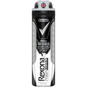 Rexona Men Invisible Black + White antiperspirant deodorant sprej pro muže 150 ml