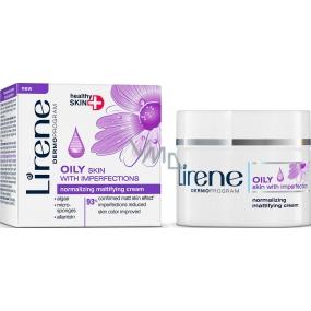 Lirene Oily Skin With Imperfection normalizující matující krém pro mastnou pleť 50 ml