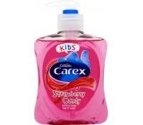 Carex Strawberry Candy Kids Jahoda antibakteriální tekuté mýdlo 250 ml