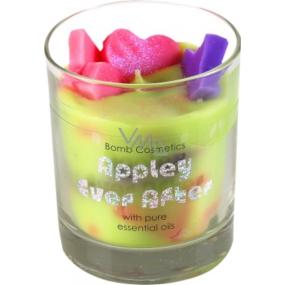 Bomb Cosmetics Navždy spolu - Appley Ever After Glass Candle Vonná přírodní, ručně vyrobena svíčka ve skle hoří až 35 hodin