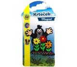 Nekupto Krtečkova dobrodružství Krteček magnet Krtek a květiny NKM 004