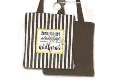 Nekupto Buď Jedinečná nákupní taška Pruhy · Nekupto Buď Jedinečná nákupní  taška Pruhy c320e0a2612
