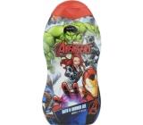 Marvel Avengers 2v1 sprchový gel a pěna do koupele pro děti 350 ml