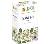 Leros Černý bez květ bylinný čaj na chřipku, nachlazení, trávicí obtíže, menstruace, migréna 20 x 1 g