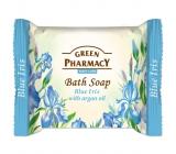 Green Pharmacy Modrý Iris a Arganový olej toaletní mýdlo 100 g