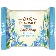 Green Pharmacy Blue Iris - Modrý Iris a arganový olej toaletní mýdlo 100 g