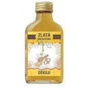 Bohemia Gifts Zlatá medovina 18 % Děkuji 100 ml