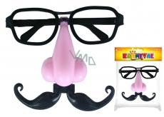 Brýle s nosem svítící