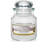 Yankee Candle Angels Wings - Andělská křídla vonná svíčka Classic malá sklo 104 g