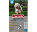 Bayer Advantix Spot On roztok pro nakapání na kůži on pro psy 4-10 kg, 1 x 1 ml