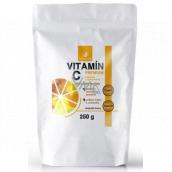 Allnature Vitamín C Premium 100% čistý prášek pro podporu imunity a snížení únavy a vyčerpání, doplněk stravy 250 g