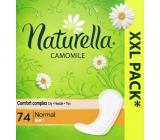 Naturella Normal intimní vložky s heřmánkem 74 kusů