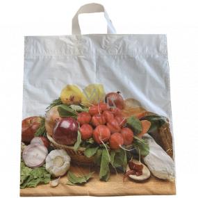 Taška igelitová 46 x 43 cm s uchem Zelenina