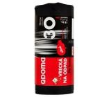 QDoma Sáčky do odpadkového koše černé silné 30 litrů, 50 x 60 cm, 15 kusů